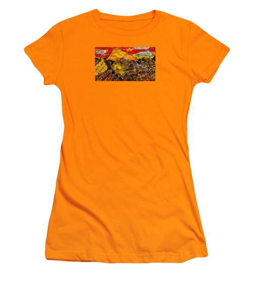 Women's T-Shirt (Junior Cut) featuring the painting Western Hills 4 by Don Koester