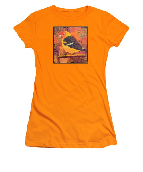 Western Tanager Women's T-Shirt (Athletic Fit)