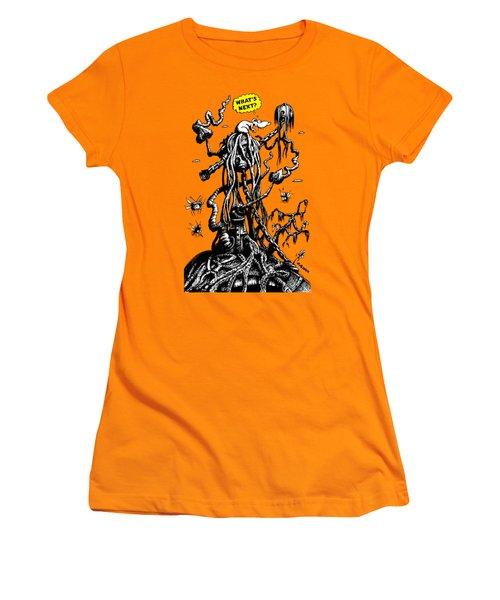 What's Next? Women's T-Shirt (Junior Cut) by Kim Gauge