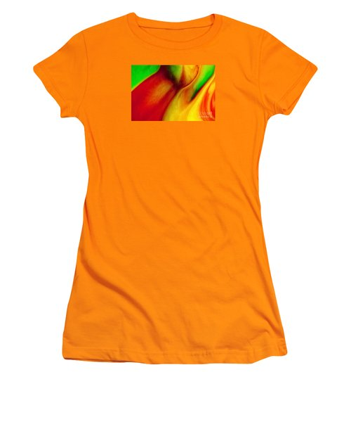 Where Time Stands Still Women's T-Shirt (Athletic Fit)