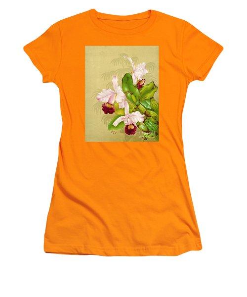 White House Orchid 1892 Women's T-Shirt (Junior Cut) by Padre Art