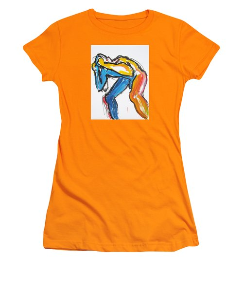 William Flynn Block Women's T-Shirt (Junior Cut) by Shungaboy X