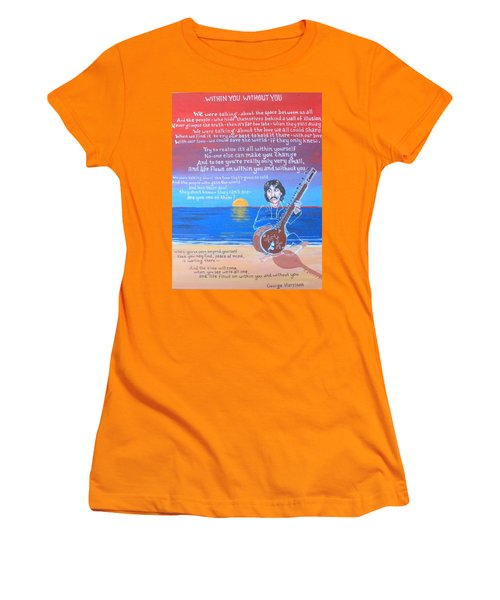 Within You Without You Women's T-Shirt (Athletic Fit)