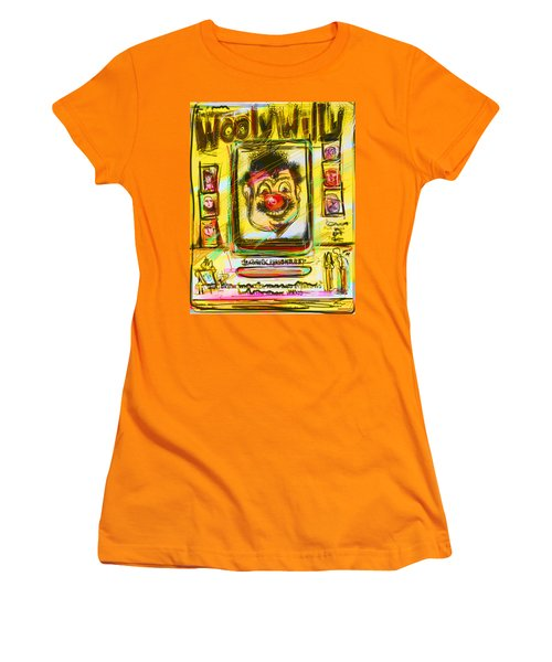 Wooly Willy Women's T-Shirt (Athletic Fit)