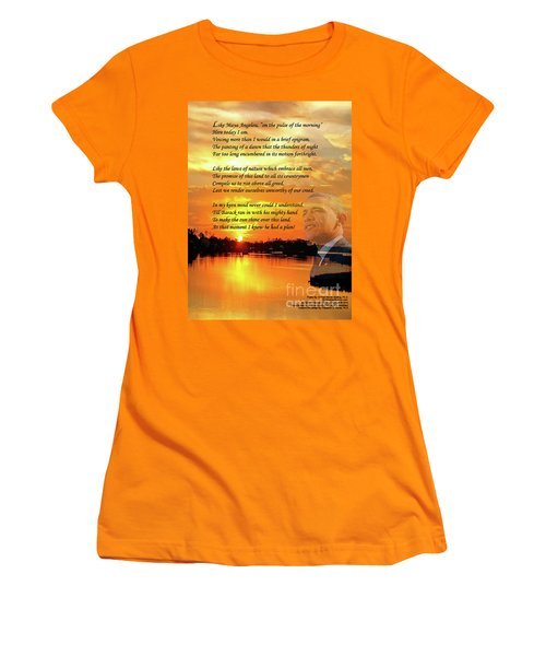 Writer, Artist, Phd. Women's T-Shirt (Junior Cut) by Dothlyn Morris Sterling