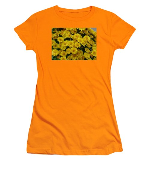 Yellow Fall Women's T-Shirt (Athletic Fit)
