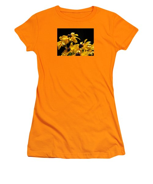 Yellow Flower 2 Women's T-Shirt (Athletic Fit)