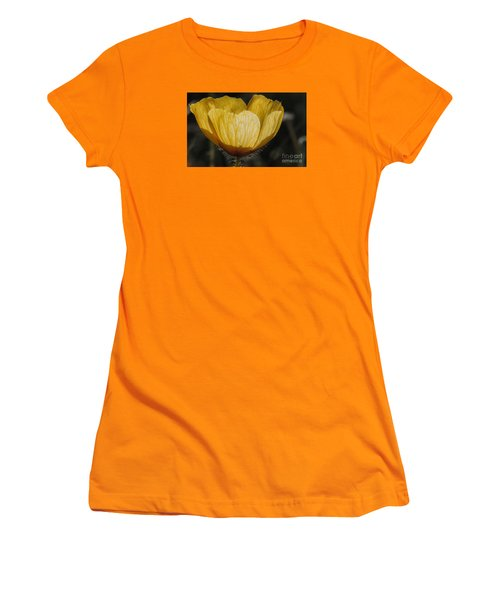 Yellow Flower 4 Women's T-Shirt (Athletic Fit)