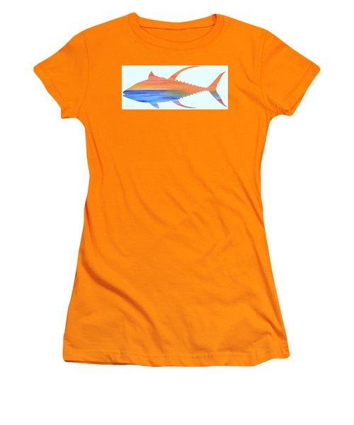 Yellowfin Sunset Beach Women's T-Shirt (Athletic Fit)