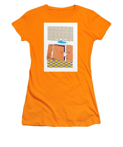You Looking For Me Women's T-Shirt (Junior Cut) by Leela Payne