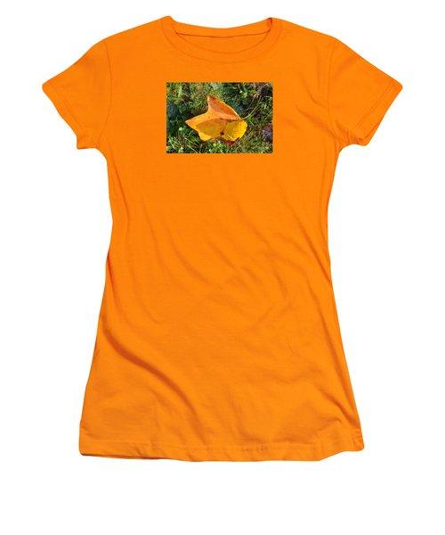 You're Always Leafing Me Women's T-Shirt (Junior Cut) by Lew Davis