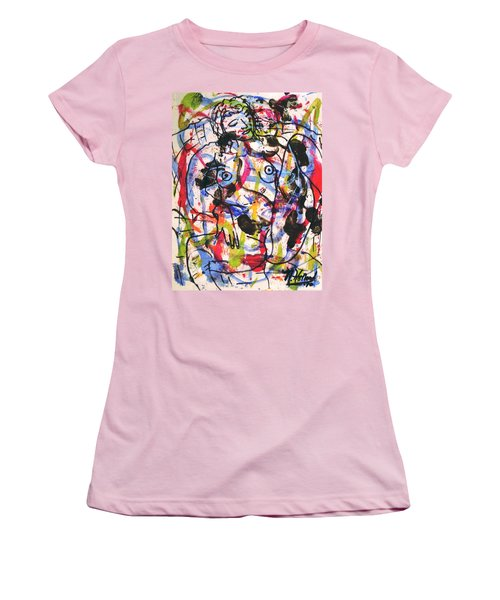 Erotic Nude Women's T-Shirt (Junior Cut) by Natalie Holland