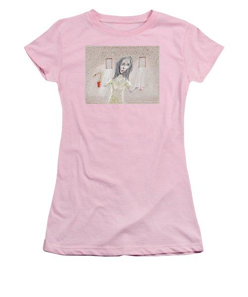 Nurtured Women's T-Shirt (Athletic Fit)