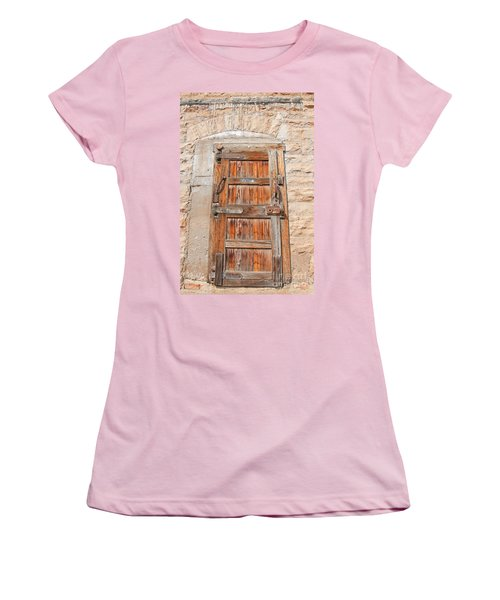 Door Series 1 Women's T-Shirt (Junior Cut) by Minnie Lippiatt