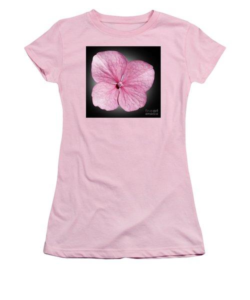 Flowers Women's T-Shirt (Junior Cut) by Tony Cordoza