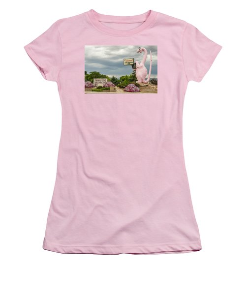Women's T-Shirt (Junior Cut) featuring the photograph A Fun Welcome To Vernal by Sue Smith