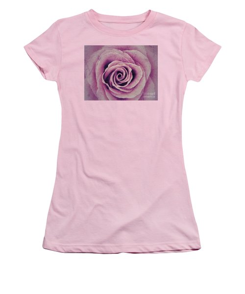 A Sugared Rose Women's T-Shirt (Athletic Fit)
