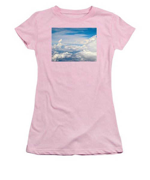 Above The Clouds Over Texas Image B Women's T-Shirt (Athletic Fit)