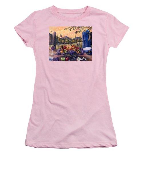 Admirals Harvest Women's T-Shirt (Junior Cut) by Gail Butler