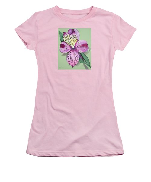 Alstroemeria No.1 Women's T-Shirt (Athletic Fit)