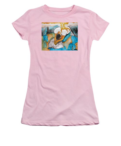 Anointed One Women's T-Shirt (Athletic Fit)