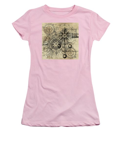 Autowheel IIi Women's T-Shirt (Junior Cut) by James Christopher Hill
