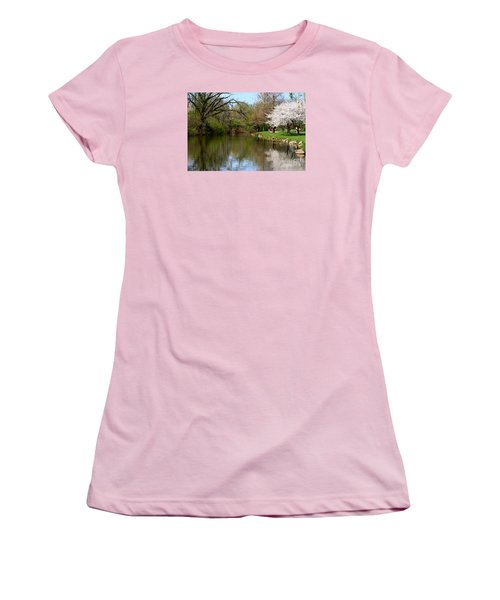 Baker Park Women's T-Shirt (Junior Cut) by Patti Whitten