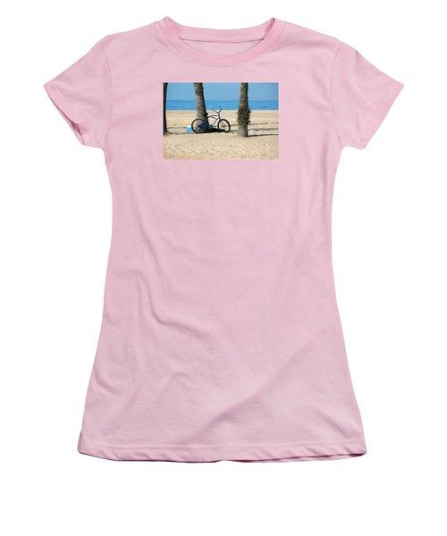Beach Day Women's T-Shirt (Junior Cut) by Art Block Collections