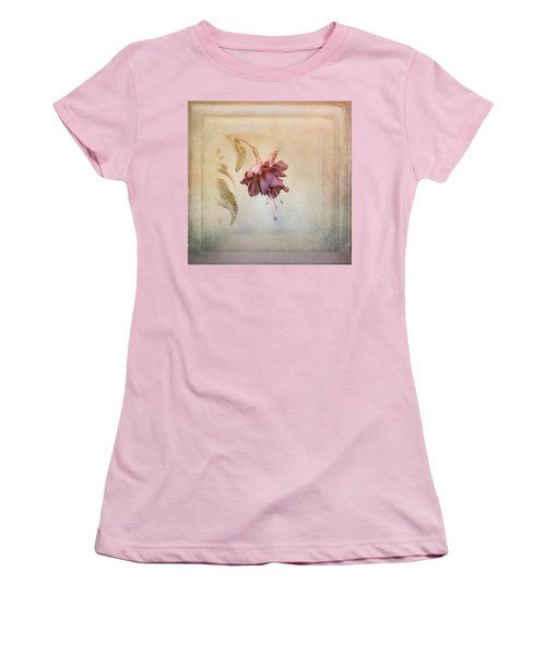 Beauty Fades Softly Framed Women's T-Shirt (Athletic Fit)