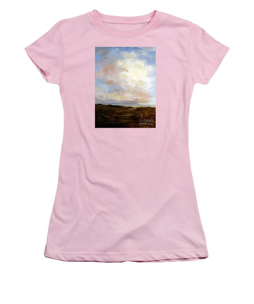 Big Sky Country Women's T-Shirt (Junior Cut) by Lee Piper