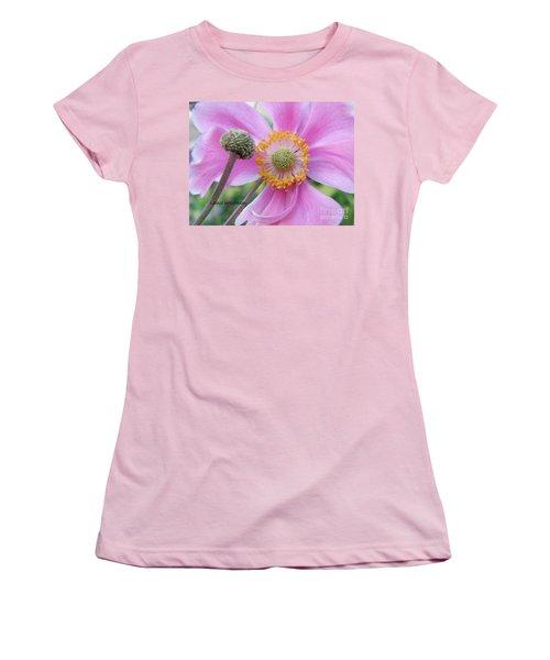Blossom Women's T-Shirt (Junior Cut) by Lainie Wrightson