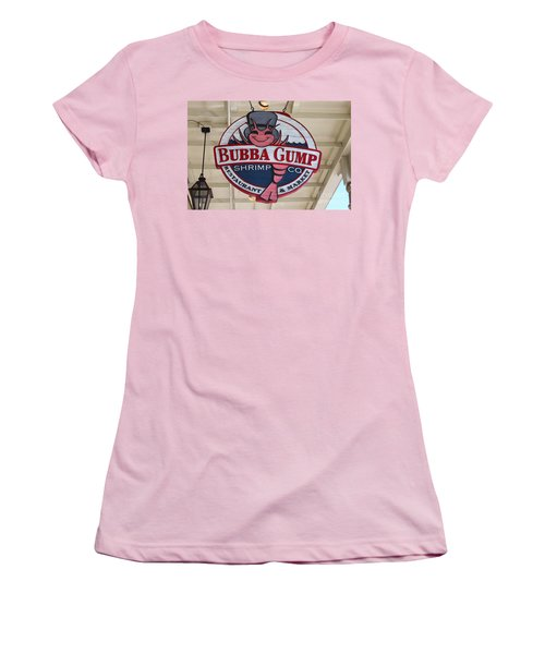Bubba Gump Shrimp Co. Women's T-Shirt (Athletic Fit)