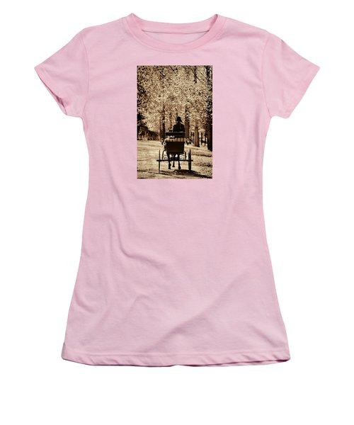 Buggy Ride Women's T-Shirt (Junior Cut) by Joan Davis
