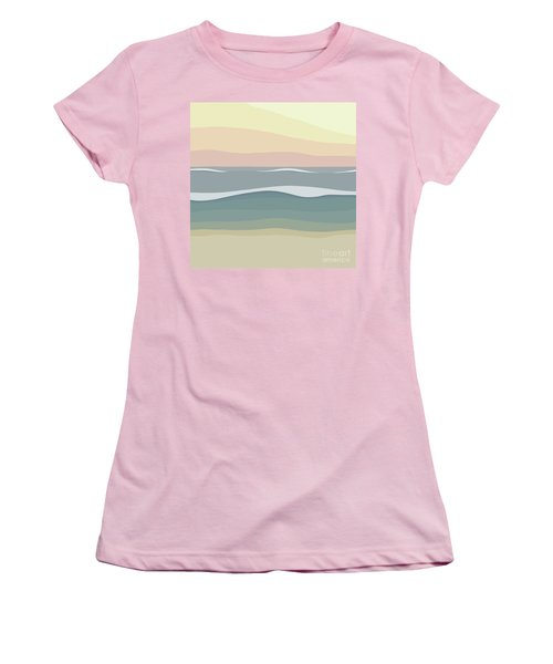 Coast Women's T-Shirt (Junior Cut) by Henry Manning