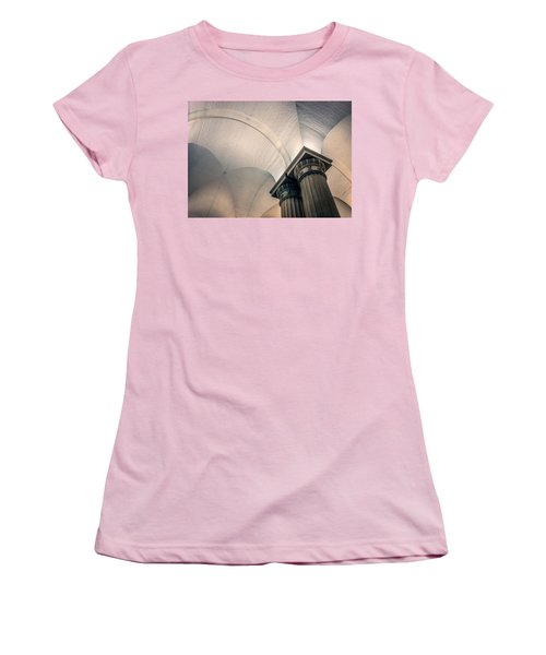 Women's T-Shirt (Junior Cut) featuring the photograph Columns by Rob Sellers