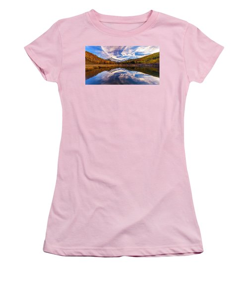 Colorful Reflection Women's T-Shirt (Athletic Fit)