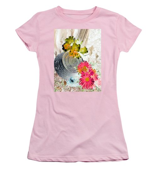 Country Summer - Photopower 1509 Women's T-Shirt (Athletic Fit)