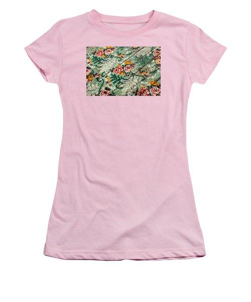 Cracked Linoleum Women's T-Shirt (Athletic Fit)