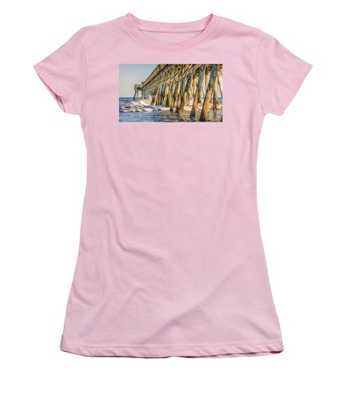 Women's T-Shirt (Junior Cut) featuring the photograph Crash by Rob Sellers