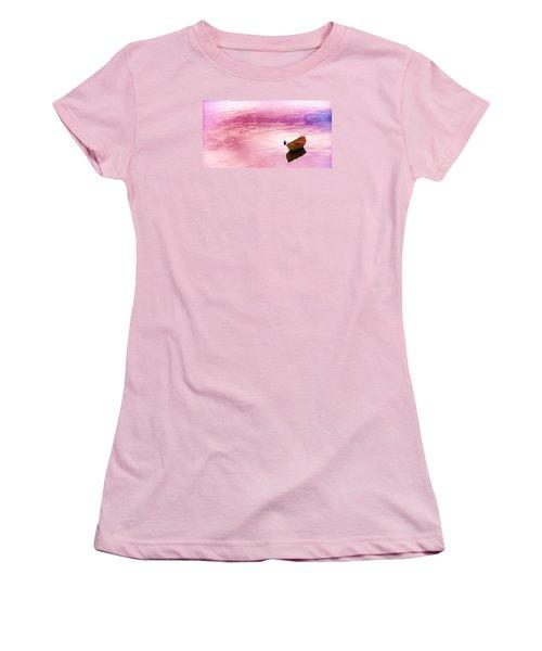 Dawns Light Reflected Women's T-Shirt (Junior Cut) by Jeff Folger