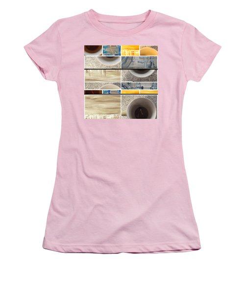 Women's T-Shirt (Junior Cut) featuring the photograph Defense De Fumer Part Two by Sir Josef - Social Critic - ART