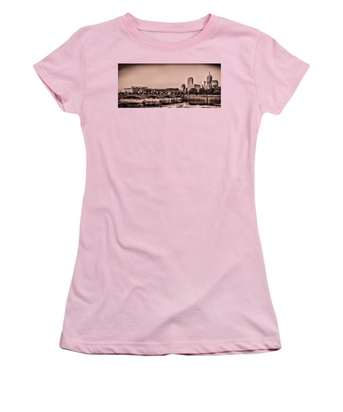 Downtown Indianapolis Women's T-Shirt (Athletic Fit)