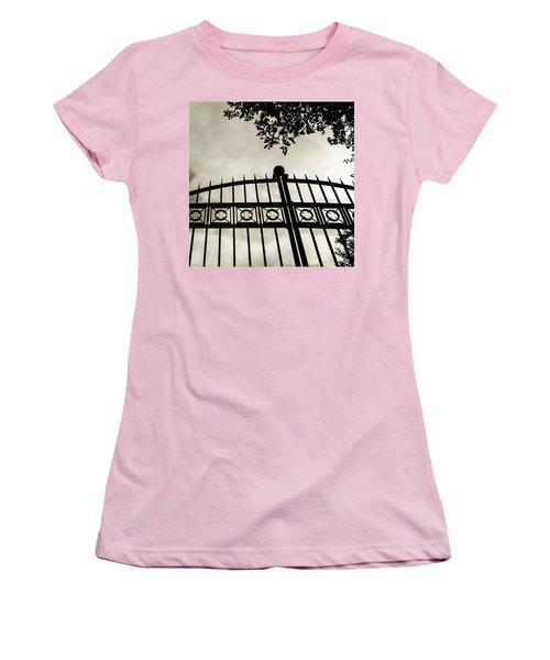 Entrances To Exits - Gates Women's T-Shirt (Athletic Fit)