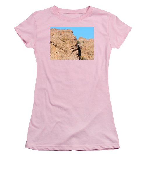 Face Of The Monolith Women's T-Shirt (Athletic Fit)