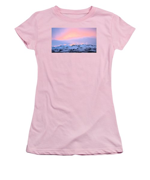 Fire On The Mountain Women's T-Shirt (Athletic Fit)