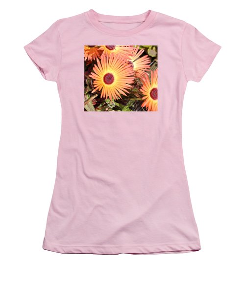Women's T-Shirt (Junior Cut) featuring the photograph Floral by Cathy Mahnke