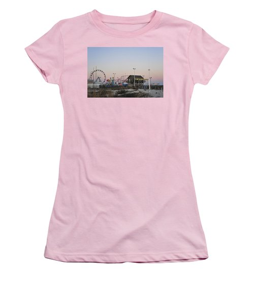 Fun At The Shore Seaside Park New Jersey Women's T-Shirt (Junior Cut) by Terry DeLuco