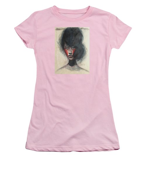 Geisha Make Up Women's T-Shirt (Athletic Fit)