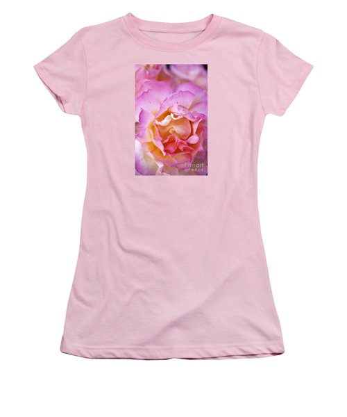 Women's T-Shirt (Junior Cut) featuring the photograph Glow From Within by David Millenheft