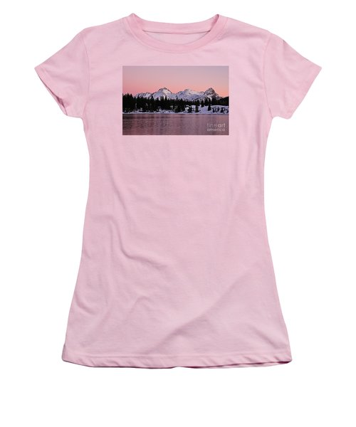 God's Light Painting At Molas Lake Women's T-Shirt (Athletic Fit)